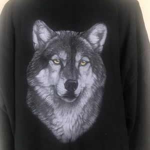 The Bradford Exchange Jackets & Coats - The Bradford Exchange Lone Wolf Hoodie by Al Agnew